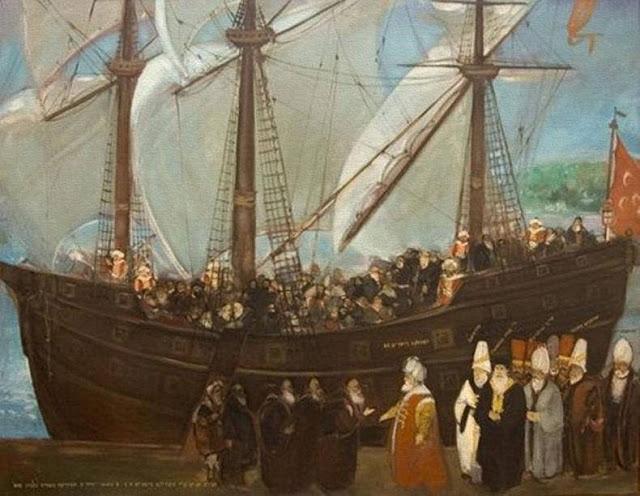 Sejarah Mencatat: Khilafah Islam Selamatkan 150 Ribu Yahudi Yang Diusir Penguasa Kristen Eropa