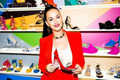 Katy Perry crea su primera colección de zapatos