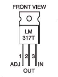 lm317 devre şeması