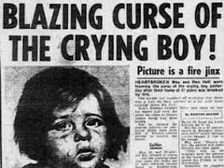 Haunted Object  The Crying Boy