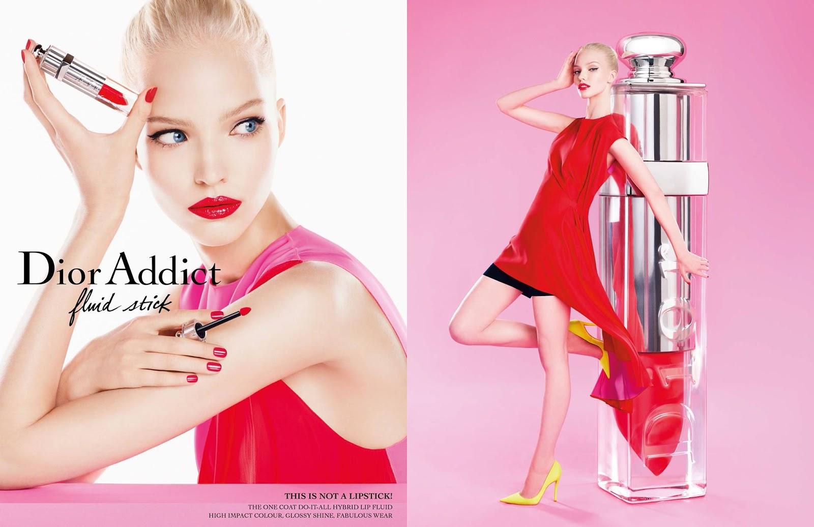 Новинка для губ: Dior Addict fluid stick 754 Pandore