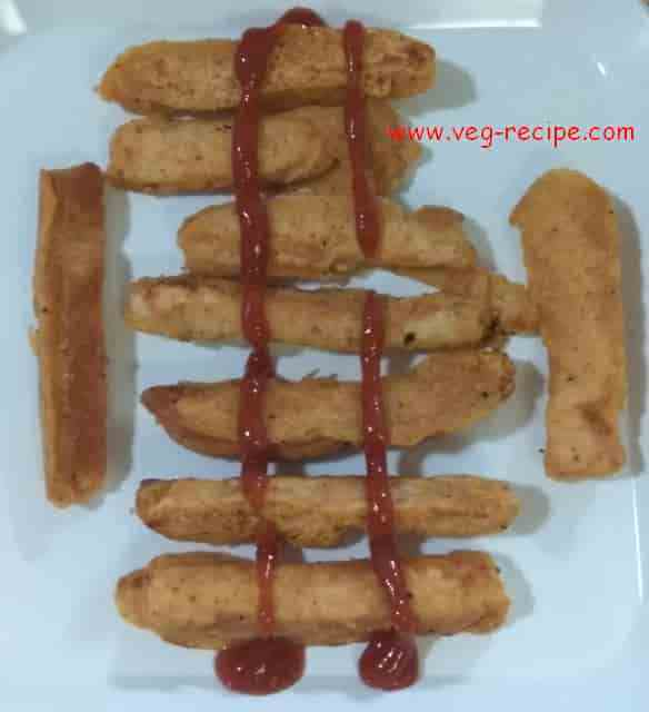 Bread Sticks Recipe | Bread Finger Fries | Bread Stick Fritters