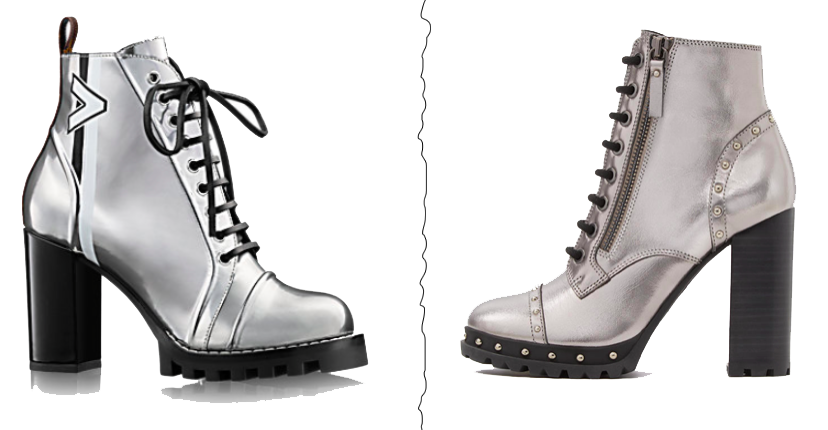 AW17/18 Shoes Trend Metallic Silver Boots