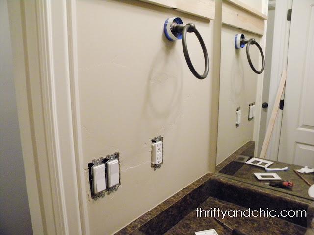 DIY板和Batten -This浴室只需11美元!