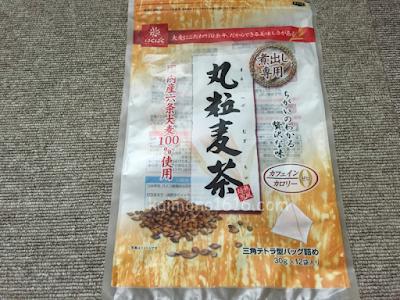 はくばく国内産六条大麦100%使用・丸粒麦茶360g(30g×12袋)