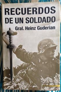 Portada del libro Recuerdos de un soldado, de Heinz Guderian