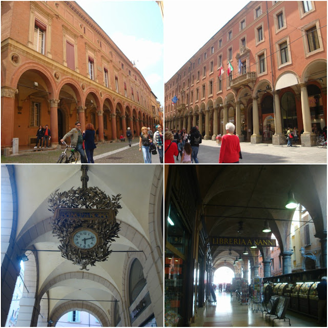 Bolonha: 10 motivos porque me apaixonei pela cidade - pórticos de Bolonha
