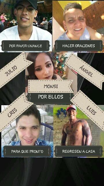 """Trasciende el """"Levanton"""" de 6 jovenes en Alvarado Veracruz"""