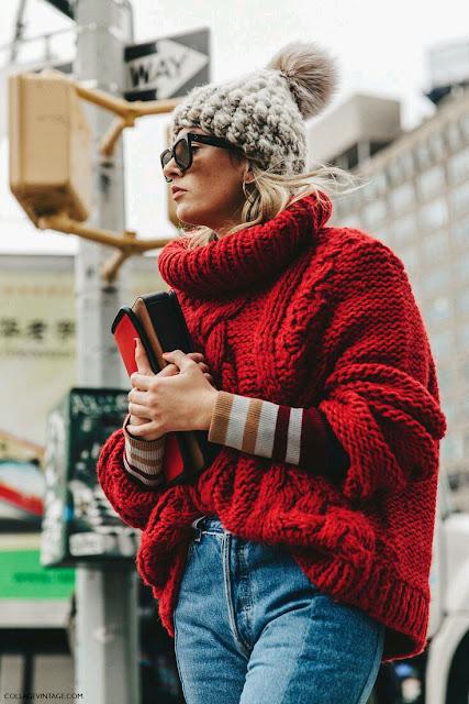 color inspiration, colors trends, czerwień, fall 2016, fall style, inspiracje modowe, inspirujace kolory, jesienne inspiracje, modny kolor, porady stylisty, red fashion, swetry, trendy, inspiracje modowe, modne trendy, czerwony,