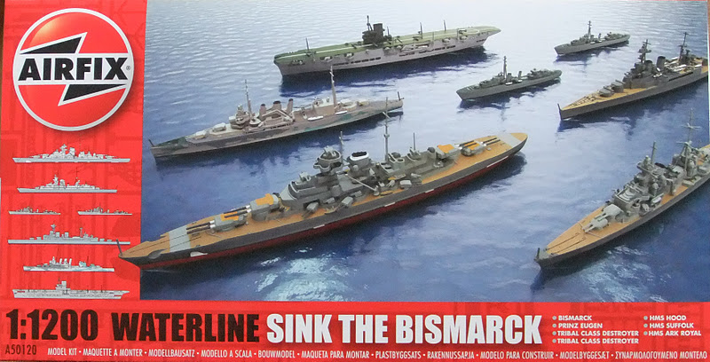 Megablitz and more: 1/1200 WW2 ship model availability