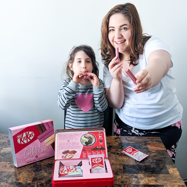 Une boîte Kit Kat exclusive à Amazon - #MaPause #CacaoRuby