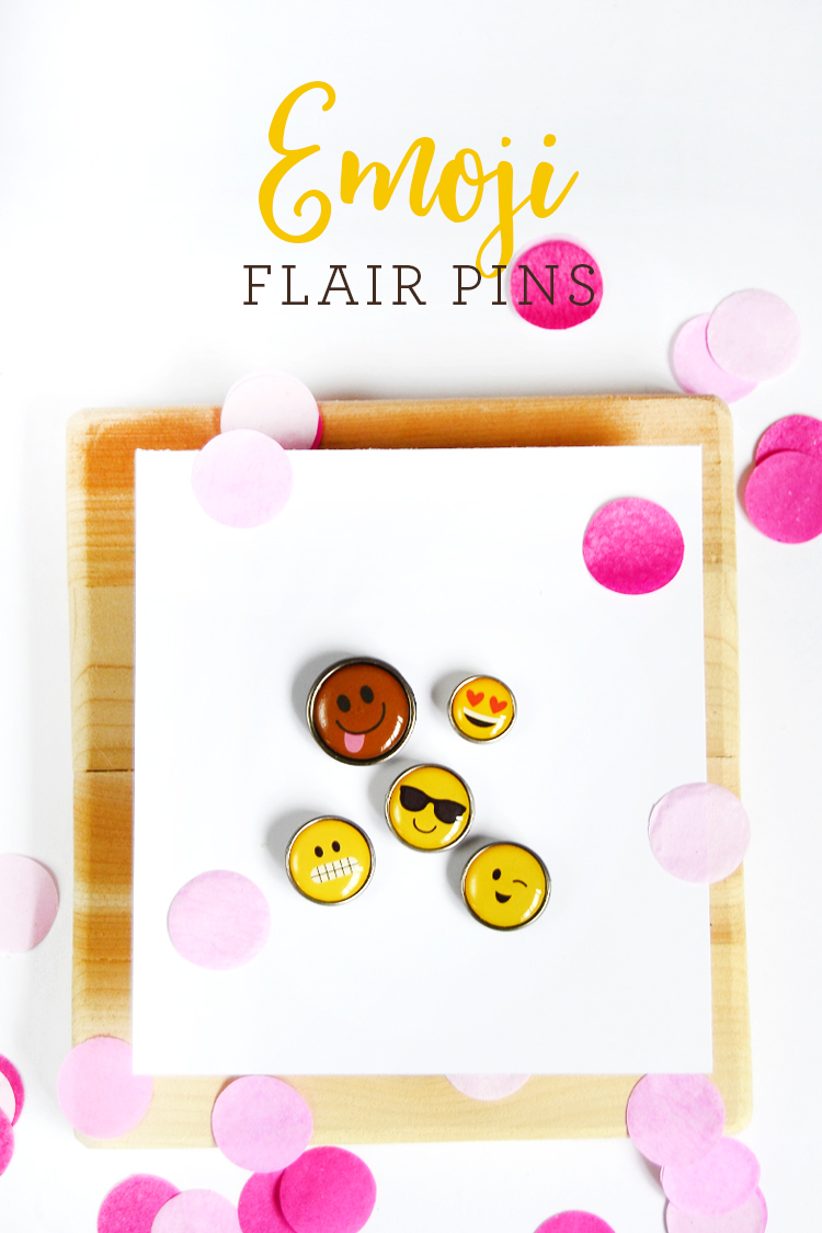 emoji pins at crafts unleashed