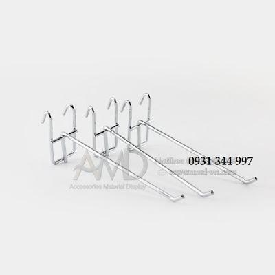 Móc treo tấm lưới trưng bày hàng hóa siêu thị, trưng bày phụ kiện điện thoại - 224137