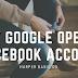 okay google open my facebook account