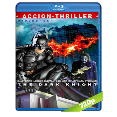 Batman 6 El Caballero De La Noche (2008) BRRip 720p Audio Trial Latino-Castellano-Ingles 5.1