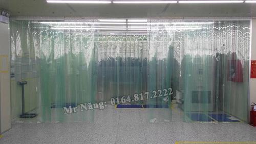 Rèm nhựa chống tĩnh điện tại Bắc Giang 04