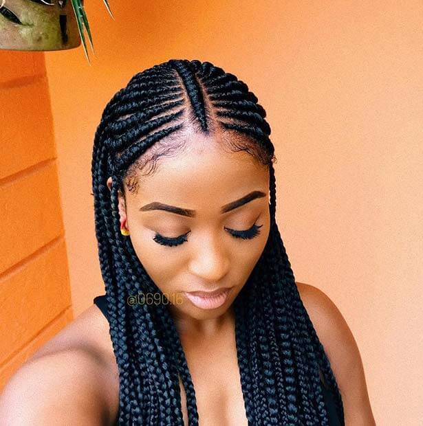 27+ Best Fulani Two Braids Hairstyles to Copy This Summer 2019 - Fashionuki