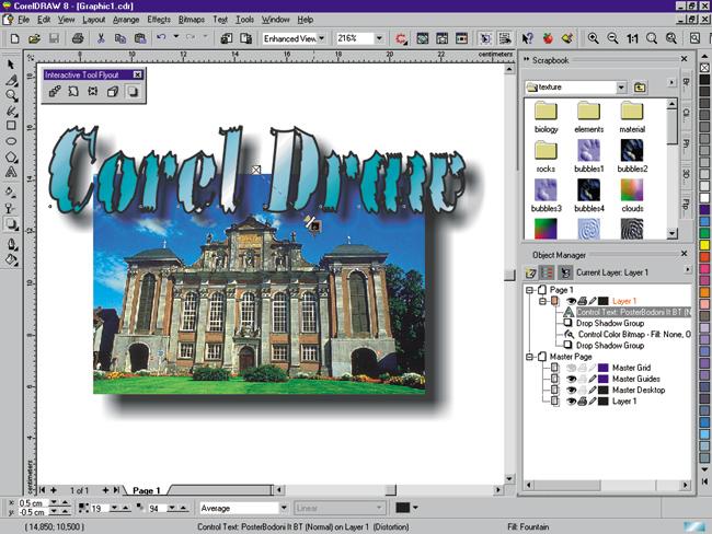 Sejarah CorelDRAW - CorelDRAW Versi 8.0 (1998)