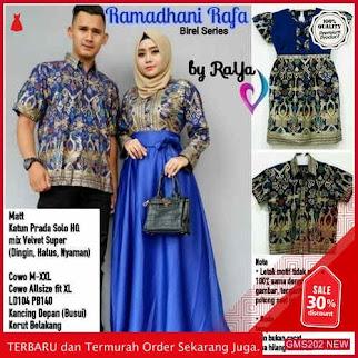 GMS202 STJW202C79 Couple Ramadhani Rafa Sarimbit Batik Dropship SK0067031094