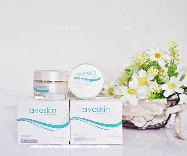 Avoskin Day Cream And Night Cream