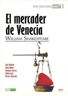 El Mercader de Venecia (Tve, Estudio 1) - Caratula