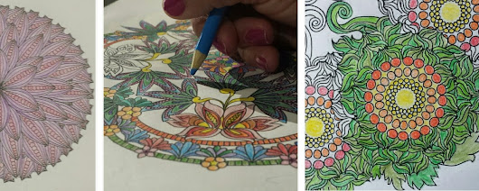 GIVEAWAY & Review: Coloring Flower Mandalas by Wendy Piersall  ~ Viva la Feminista