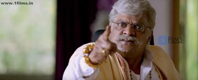 P Ravi Shankar in a still from Movie Jaggu Dada