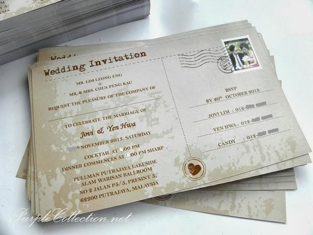G0566, postcard, wedding invitation, flat card, vintage, stamp, malaysia, kl, chop, putrajaya, art card, 260g, offset printing, handmade, hand crafted, kuala lumpur, selangor, singapore, johor bahru, jb, pahang, perak, penang, sabah, sarawak, brunei, labuan, cetak, kad kahwin, murah, photo, custom design, personalized, personalised