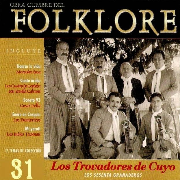 obras cumbres del folklore trovadores de cuyo tapa