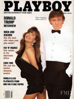 Donald Trump portada de Playboy
