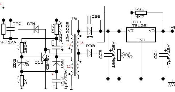 ATX Power Principle, Part 3: standby circuit type 1: In