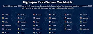 Kumpulan Server dari Safer VPN