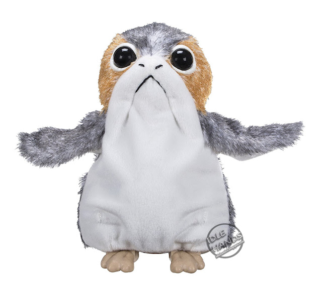 Hasbro Star Wars The Last Jedi Porg Plush Electronic Doll 1