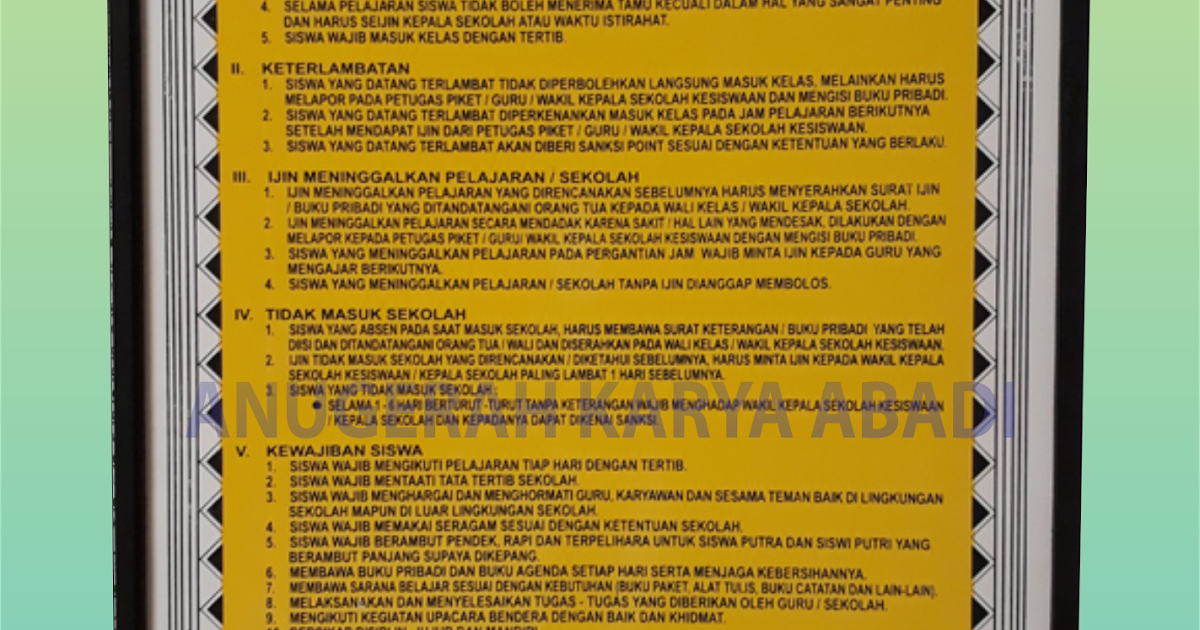 papan data smp - mts - papan data