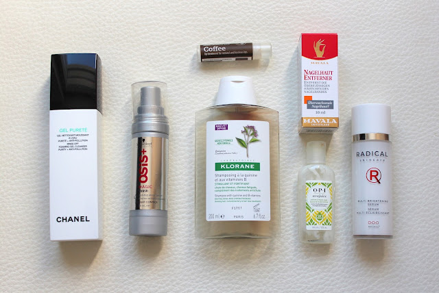 Empty products from September 2015