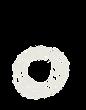 カタカナのペンキ文字「句点」