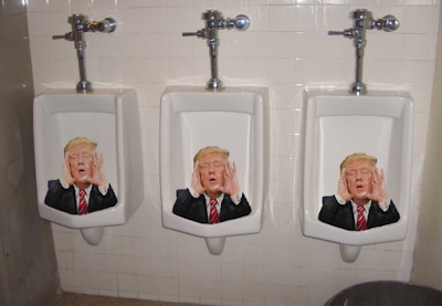 Trump urinal 1 picture