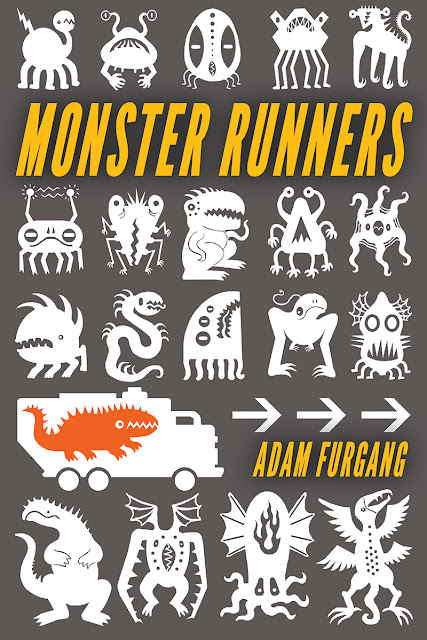 Monster Runners Available on Amazon