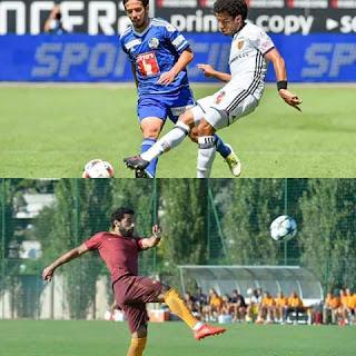 ممثلي مصر اليوم  عمر جابر :يلعب فريق بازل السويسري اليوم  محمد صلاح :يدخل فريق روما