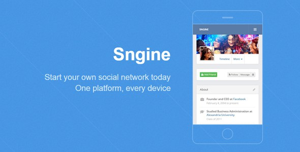 Download Sngine v2.4.2 – Ultimate Social Network Platform