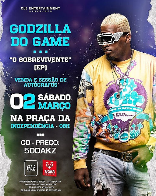 Godzilla Do Game Feat. Jessica Pitbull & Pax Galileu - Faz X (Kuduro) [Download] baixar descarregar album 2019 clé preto show filho do zua jessica pitbull