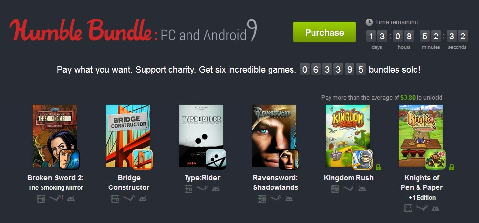 Humble Bundle Pinterest: Humble Bundle For Android 9: Νέο πακέτο με