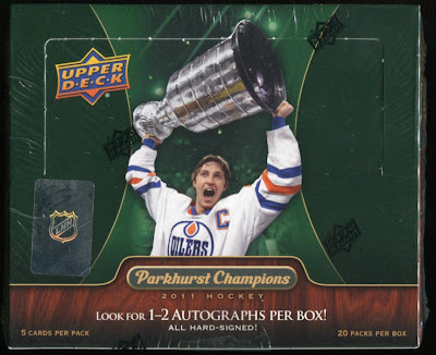 2011-12 Parkhurst Champions box break #1