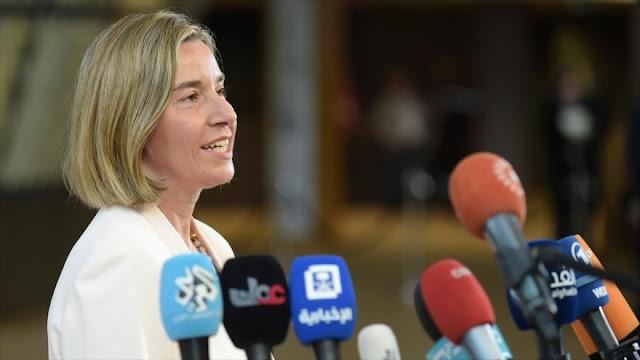 La UE llama a parar asentamientos israelíes en Cisjordania