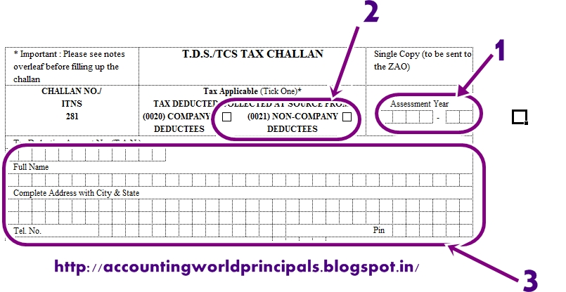 How to download tds challan