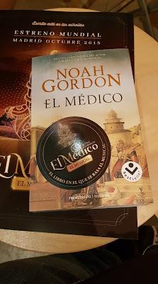 Rueda de prensa Musical El médico de Noah Gordon. Fotografía María Loreto Navarro. Blog Negro sobre Blanco