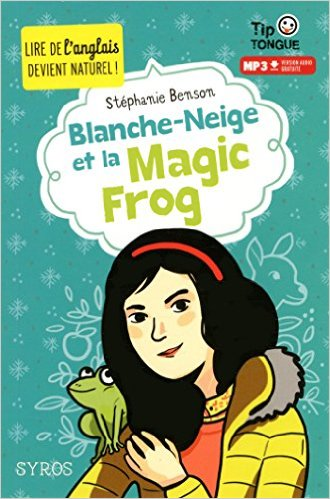 couverture blanche neige magic frog