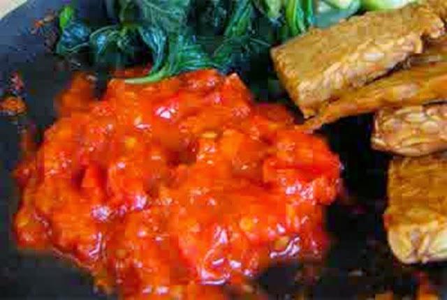Resep Membuat Sambal Merah Khas Rumah Makan Padang Enak