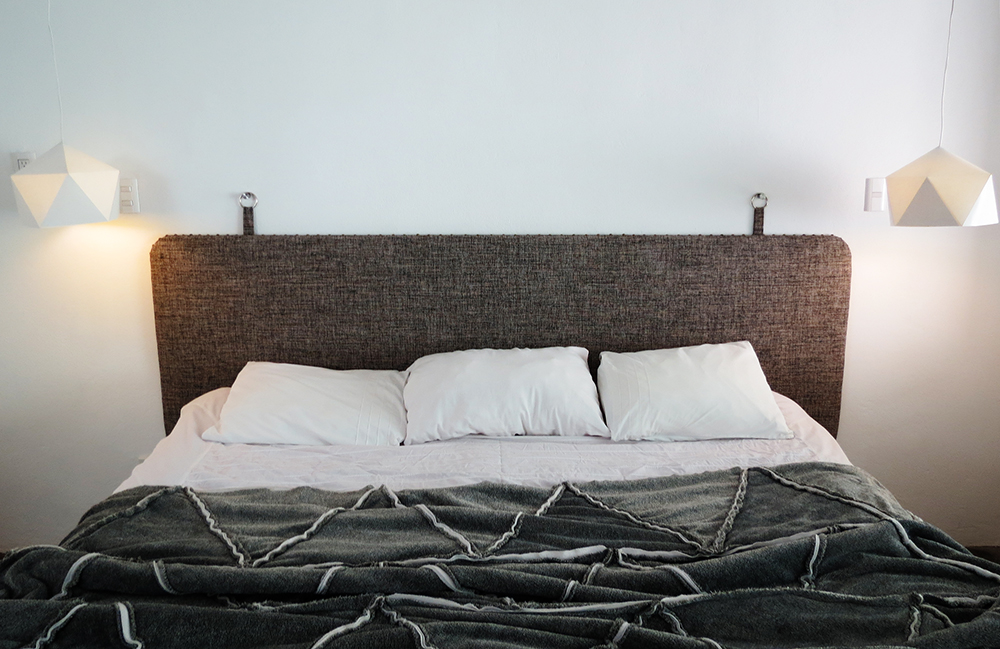 How to build a modern upholster headboard
