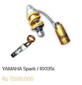 Daftar Harga Shock Ohlins Untuk Semua Motor Yamaha